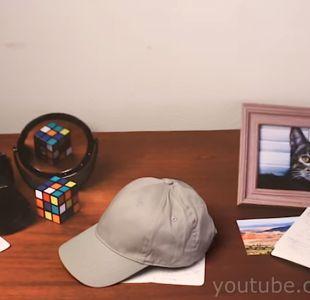 [VIDEO] Desafío: ¿Puedes determinar qué elemento de esta mesa es real?