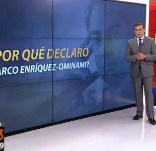 ¿Por qué declaró Marco Enríquez-Ominami en la Fiscalía?