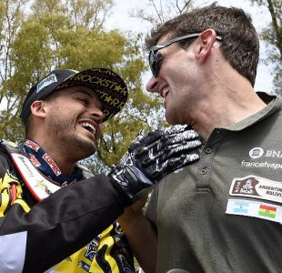 Pablo Quintanilla vuelve al podio a un día que finalice el Dakar 2016