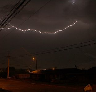 Tormenta eléctrica afectará zona norte del país este domingo