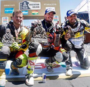 Pablo Quintanilla se une a destacados pilotos chilenos que subieron al podio del Dakar