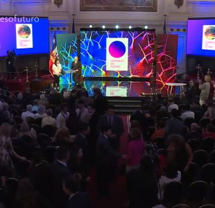 Congreso del Futuro: Presidenta Bachelet inaugura cita científica junto a robot humano