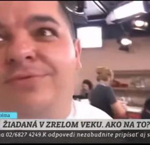 [VIDEO] Captan a chef con un sospechoso polvo blanco en televisión