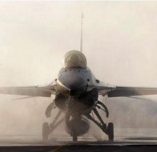 Técnico que realizaba mantención en aviones de guerra le disparó por error a un F16 en Bélgica