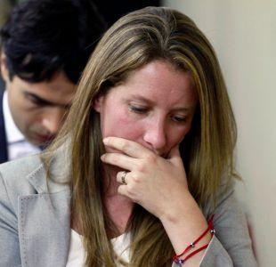 Natalia Compagnon es formalizada en el Juzgado de Rancagua.