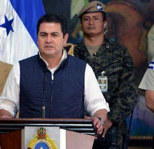El presidente Juan Orlando Hernández lleva dos años en el poder.