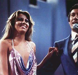 Raquel Argandoña cuando fue jurado en Viña 1981