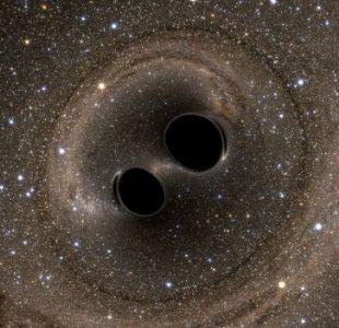 [VIDEO] La NASA crea una simulación del choque de dos agujeros negros supermasivos