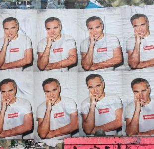 Campaña de la marca Supreme molesta al cantante Morrissey