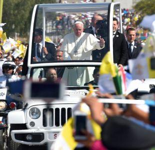 Papa clama por un México sin emigrantes ni traficantes de muerte