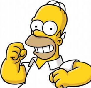 Homero Simpson estará en vivo y en directo