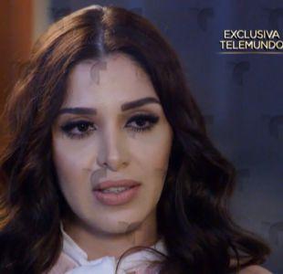 Esposa del  Chapo Guzmán rompe el silencio en entrevista a Telemundo