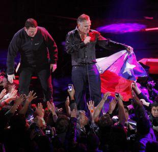 Morrissey en el Festival de Viña del Mar 2012
