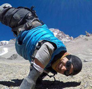 Kyle Maynard, un deportista amputado congénito, escaló el monte Aconcagua.
