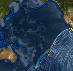 Centro de Alerta de Tsunamis del Pacífico publica un nueva animación del 27F en su sexto aniversario