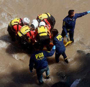 PDI encuentra en Río Mapocho nuevos restos de mujer descuartizada
