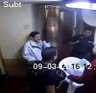 [VIDEO] Registran momento exacto de la agresión a Ávaro Corbalán
