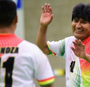 Nuevo presidente de la FIFA jugará con Evo Morales en Bolivia