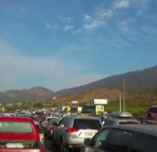 [VIDEO] Usuarios de redes sociales registran congestión en las carreteras tras fin de semana largo