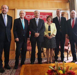 Heraldo Muñoz se reunió con ex cancilleres