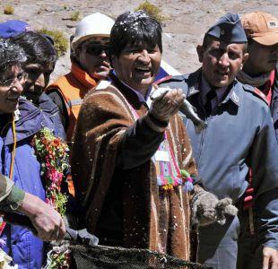 Morales realiza inspección al Silala para plantear que no es río internacional