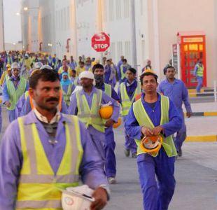 Denuncian las condiciones laborales de los obreros de Qatar 2022