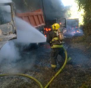 Atentado incendiario se registra en Padre Las Casas, región de La Araucanía