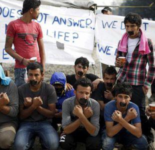 Inmigrantes protestan en Grecia contra su deportación