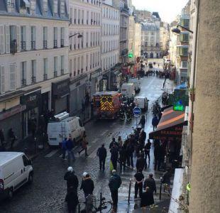 Tiroteo en París deja a un hombre detenido