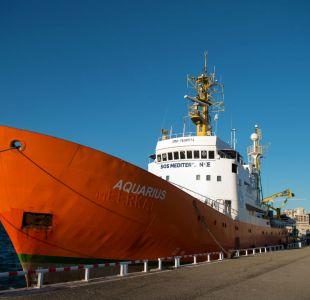 Más de un centenar de migrantes fueron rescatados en el Mediterráneo