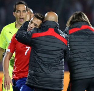 """Sampaoli cuenta que Alexis """"no sabía qué hacer"""" en el penal de la final frente a Argentina"""