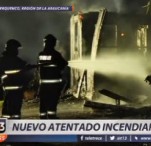 Nuevo ataque incendiario en La Araucanía
