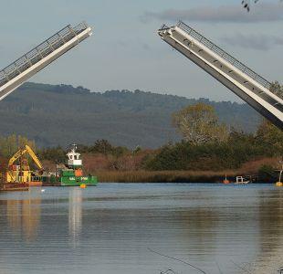 Buena parte del puente Cau Cau será demolida