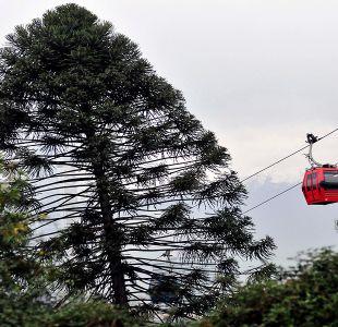 [FOTOS] El teleférico de Santiago se alista para su pronta reinauguración