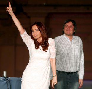 Argentina: Cristina y Máximo Kirchner son imputados por cohecho