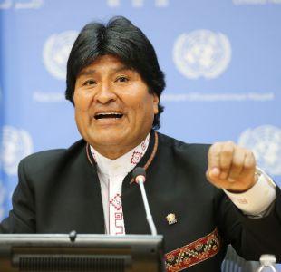 Evo Morales: Es inobjetable que las aguas del Silala llegan a Chile artificialmente