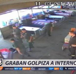 [VIDEO] Graban golpiza a internos de la cárcel de Chillán