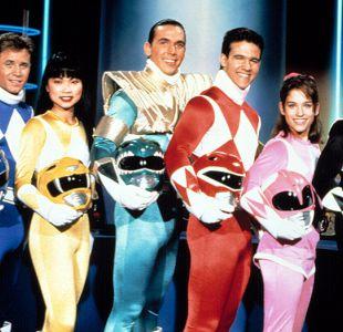 """Los """"Power Rangers"""" marcaron a toda una generación"""