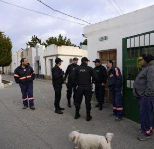 Allanan cementerio donde están los restos de Néstor Kirchner en busca de documentos