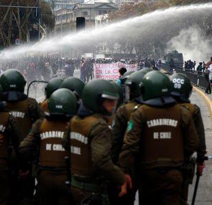 """Aleuy realiza balance tras marcha no autorizada: """"Carabineros no se inhibió ayer"""""""