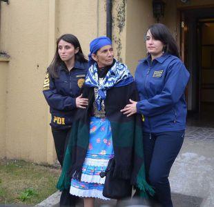 Corte de Apelaciones de Temuco decretó prisión preventiva para machi Linconao