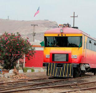 [FOTOS] Vuelve a funcionar el tren que une Arica y Tacna