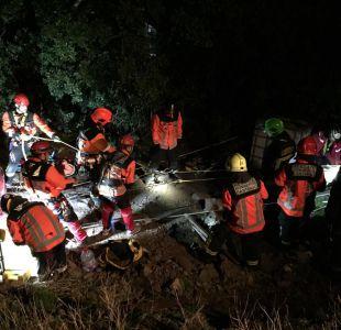 Accidente camino a Farellones dejó a una persona fallecida