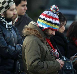 Frío en zona central: Se registran temperaturas menores a 1º C en Santiago