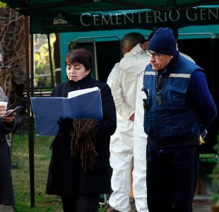 Exhuman por segunda vez los restos de Presidente Frei Montalva