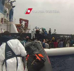 1.348 inmigrantes son rescatados ante las costas de Sicilia