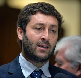 El jefe de la bancada de diputados UDI Juan Antonio Coloma