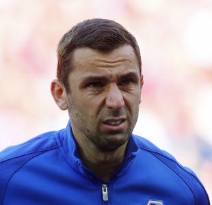 [FOTOS] La emoción del capitán de Croacia en la Eurocopa, a cinco días de la muerte de su padre