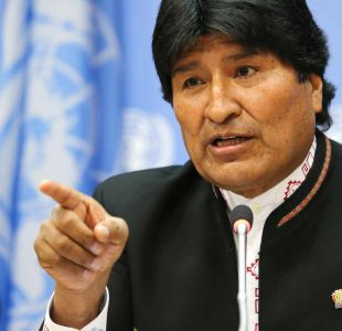 Bolivia lanza ofensiva con críticas de Morales y gira de canciller a Chile