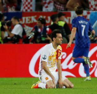España pierde con Croacia y tendrá duro rival en octavos de la Eurocopa